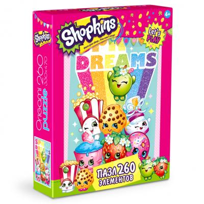 Shopkins Пазл 260 Shopkin's dreams 0